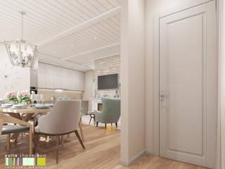 Phòng ăn phong cách chiết trung bởi Мастерская интерьера Юлии Шевелевой Chiết trung