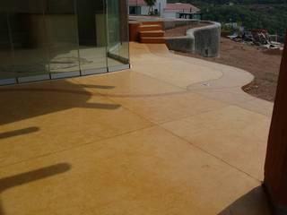 PISOS OXIDADOS Espacios comerciales de estilo moderno de Mendoza Pintores Profesionales Moderno
