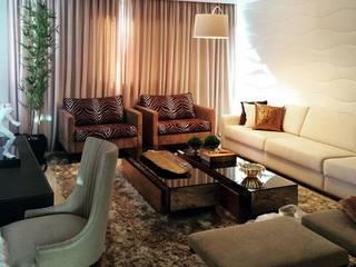 Penthouse Moderna Salas de estar modernas por Aadna.Design Moderno