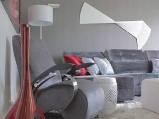 Casa da Colina Salas de estar modernas por Aadna.Design Moderno