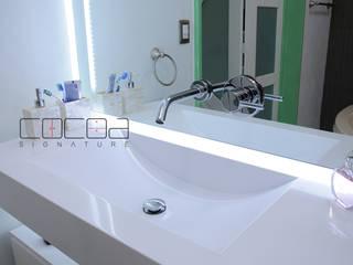 Baño Salama 602, Lindavista, CDMX de COCOA Moderno