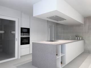Projetos de Cozinhas por Aadna.Design