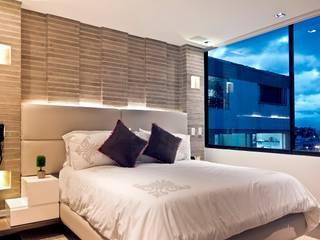 Arquitecto Santiago Rodriguez Minimalist living room