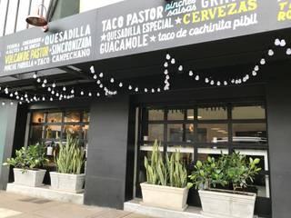 Restaurantes Casas de estilo industrial de Arquitectura Viva - Alexandra Patow Industrial