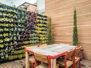 Arquitecto Santiago Rodriguez Balcon, Veranda & Terrasse industriels