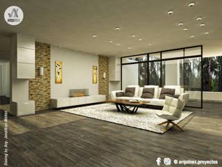 Diseño Interior CATAY Salas modernas de ARQUINEX SAS Moderno