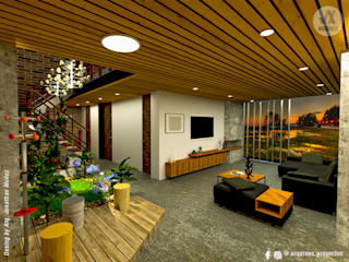 Diseño Casa San Pedro_18 de ARQUINEX SAS Clásico