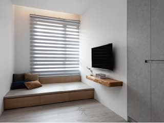 禾光室內裝修設計 ─ Her Guang Design Minimalist bedroom