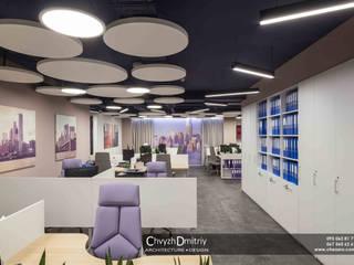 Второе небо Офисные помещения в стиле минимализм от Чвиж Дмитрий Минимализм