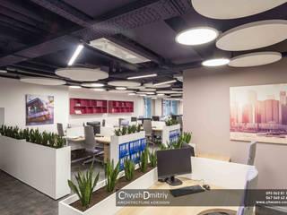 Второе небо Офисы и магазины в стиле минимализм от Чвиж Дмитрий Минимализм