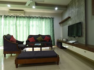 Elita Promenade Modern living room by Magnon India Modern