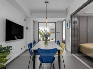 Mẫu thiết kế nội thất đẹp cho căn hộ 53m2 2 phòng ngủ bởi ATZ LUXURY Hiện đại