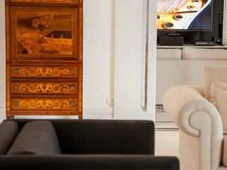 AVR Studio Arquitetura Ruang Keluarga Modern