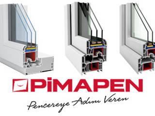 PİMAPEN PİMAPEN Pvc|Isıcamlı Cam Balkon |PENPAŞ Modern