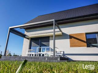 Lenta Balcones y terrazas de estilo minimalista