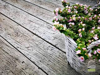 Lenta Balcones y terrazas de estilo rústico