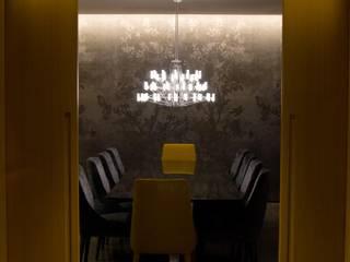 Proyecto de Iluminación 998 Salones de estilo moderno de LUMSTOCK SRL Moderno