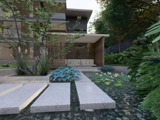 Proyecto Condominio en valle de Bravo, Mexico / atlantico arqs de ATLANTICO ARQS Rústico