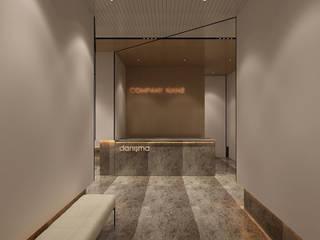 Moderner Flur, Diele & Treppenhaus von Ayaz Ergin İç Mimarlık Modern