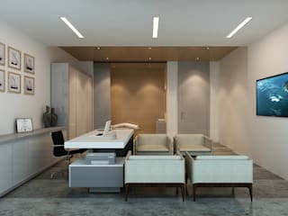 Modern Study Room and Home Office by Ayaz Ergin İç Mimarlık Modern