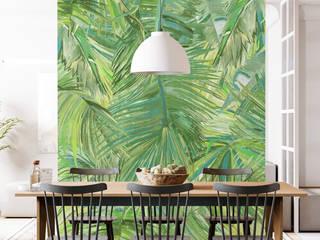 Дизайнерские обои для стен Respace Тайные тропы, коллекция Цветы Respace - дизайнерские обои для стен Кухня в скандинавском стиле