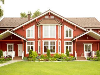 6+2 544 m2 Ahşap Malikane Çağlar Wood House Rustik