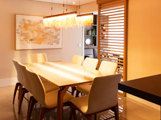 Projeto De Interiores - Wide Cambui Salas de jantar modernas por Espaço AU Moderno