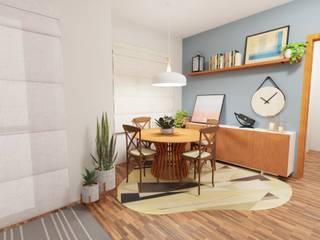Sala de Jantar e escritório! Gabriela Ferraz - Engenharia Civil