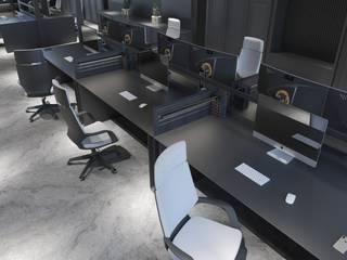 Teknoloji Oyun Ofisi İç Mimarlık Minimalist Çalışma Odası STARK İÇ MİMARLIK OFİSİ Minimalist