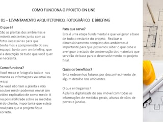 PROJETOS ON LINE Maria Claudia Faro