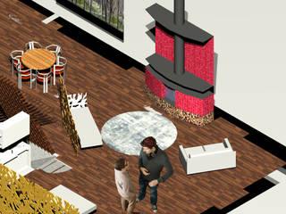 Casa Ideale Sala da pranzo in stile mediterraneo di Aetneas Design Mediterraneo