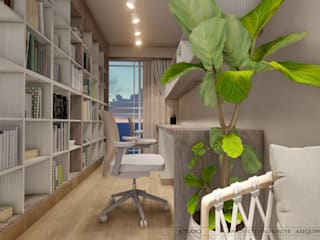 DISEÑO RESIDENCIAL - CASAS Y DEPARTAMENTOS de Yeniffer Jimenez - Diseño y Decoración de Interiores Moderno