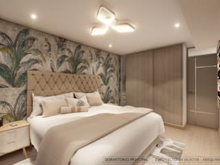 DISEÑO RESIDENCIAL - CASAS Y DEPARTAMENTOS Dormitorios de estilo moderno de Yeniffer Jimenez - Diseño y Decoración de Interiores Moderno