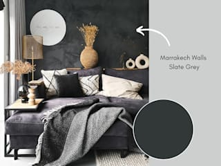Pure & Original Living roomAccessories & decoration Grey