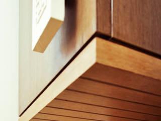 Dhruva Samal & Associates Minimalist living room