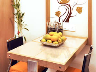 Dhruva Samal & Associates Minimalist dining room