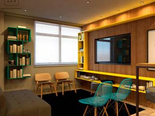 Agência Evoi de Publicidade Edifícios comerciais modernos por AVR Studio Arquitetura Moderno