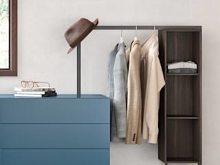 Livarea BedroomWardrobes & closets Chipboard Blue