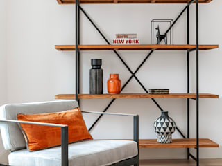Hoost - Home Staging Living roomShelves