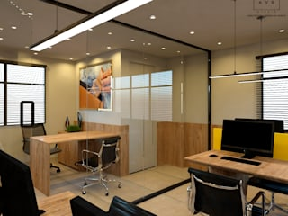 AVR Studio Arquitetura Bangunan Kantor Modern