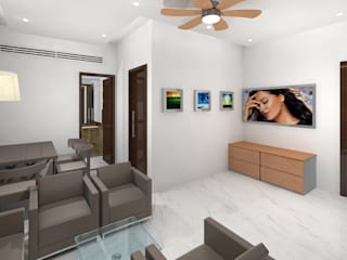 Modern living room by Gurooji Designs Modern