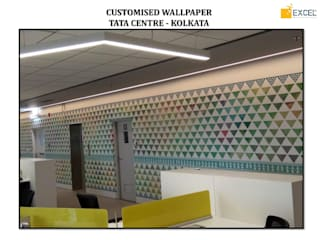 Customised Wallcoverings Modern walls & floors by Excel Wall Interiors Modern