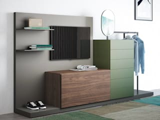 Livarea BedroomWardrobes & closets Chipboard Green