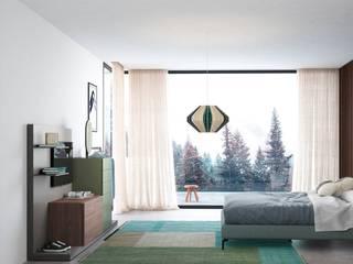 Livarea ห้องนอนWardrobes & closets แผ่นไม้อัด Green