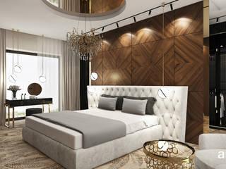 ARTDESIGN architektura wnętrz Dormitorios de estilo clásico