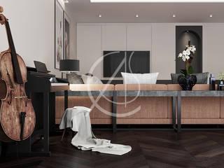 Soggiorno moderno di Comelite Architecture, Structure and Interior Design Moderno