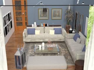 Гостиная в стиле модерн от AnnitaBunita.com Модерн