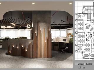 Thiết kế nội thất văn phòng làm việc VLand Thiết Kế Nội Thất - ARTBOX