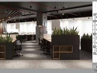 Thiết kế nội thất văn phòng làm việc VLand bởi Thiết Kế Nội Thất - ARTBOX