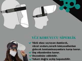 HEALTHY LIFE YÜZ KORUYUCU SİPERLİK Boran Reklam Endüstriyel